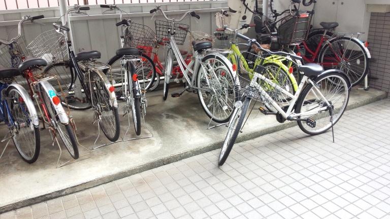 自転車の 福岡市 ゴミ 自転車 : と 自転車 置き場 から 自転車 ...